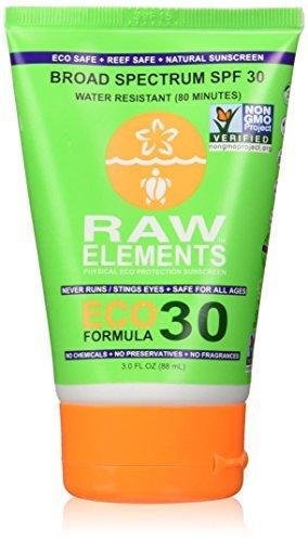 Eco Elements - Raw Elements Eco Formula 30+ Lotion Tube (Pack of 2)