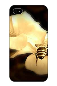 Hot New Animal Bee Case Cover For Iphone 4/4s With Perfect Design