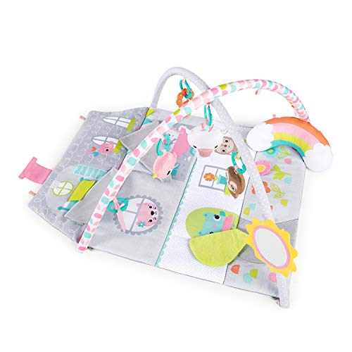 Bright Starts Floors of Fun Activity Gym & Dollhouse, Newborn +