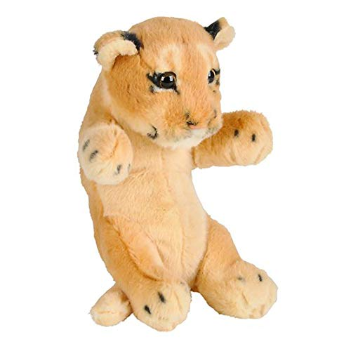 "Wildlife Tree 8"" Small Baby Cougar or Lion Cub Stuffed Animal Plush Floppy Zoo Safari Cubs Collection"