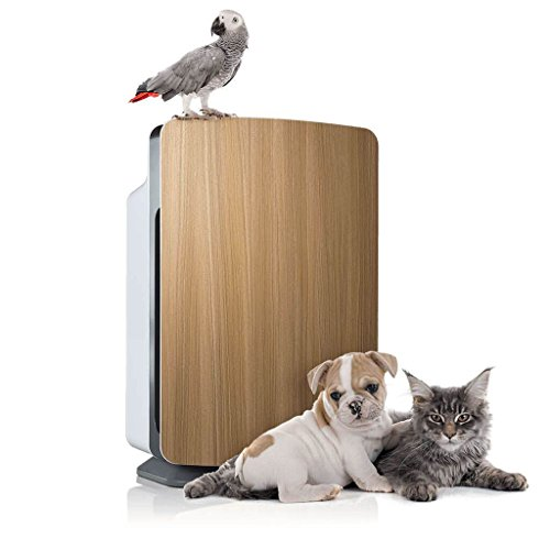 Alen BreatheSmart Classic Large Room Air Purifier - HEPA Filter for Pet Dander & Odor - 1100 sqft - Oak - with Extra Filter
