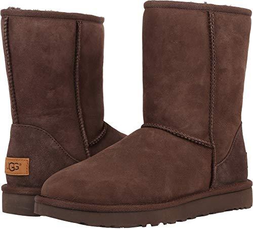 (UGG Women's Classic Short II Winter Boot, Chocolate, 7 B)