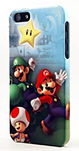 Mario, Luigi, Yoshi, & Toad Dimensional Case Fits iPhone 4 or iPhone 4s by icecream design