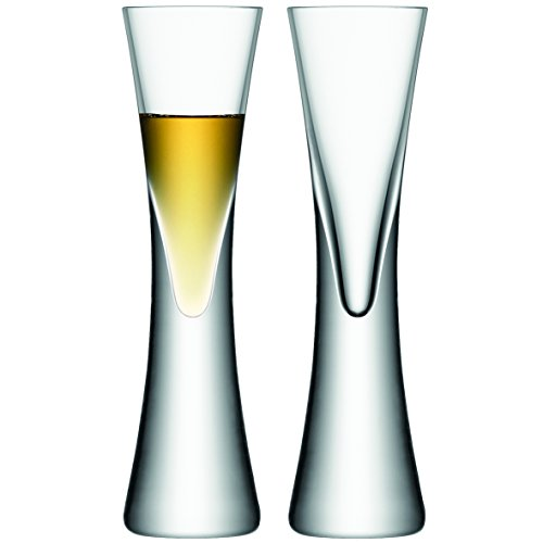 LSA International Moya Liqueur Glass (2 Pack), 1.7 fl. oz, - Glass Liqueur