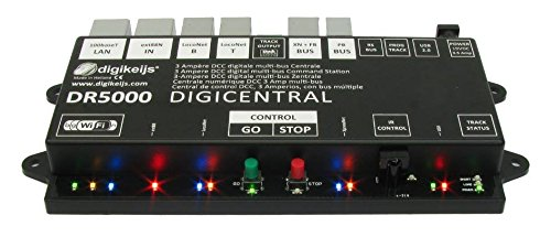 DR5000-ADJ Multi-Bus DCC Command Station