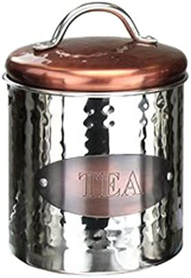 Apollo Copper Canister Tea Stainless Steel Silver 97x143x97