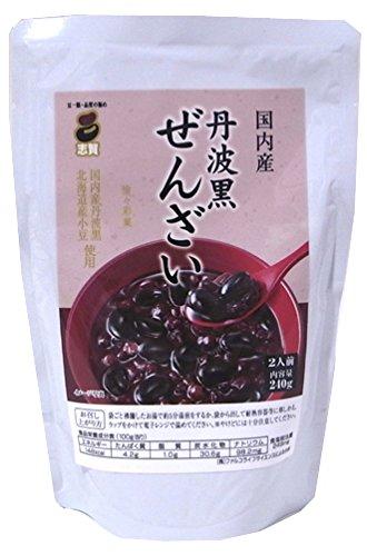 240gX5 pieces Shiga shop vacuum retort black bean Zenzai stand aluminum by Shiga store