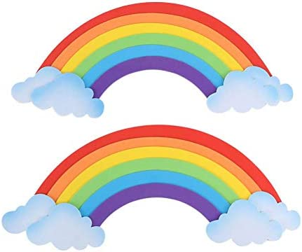 Rwats Wall Sticker 3d Rainbow Wall Sticker Sponge Eva