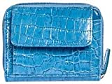 Walletbe Cash-Card-Coin Wallet with Wrist Ocean Blue, Bags Central
