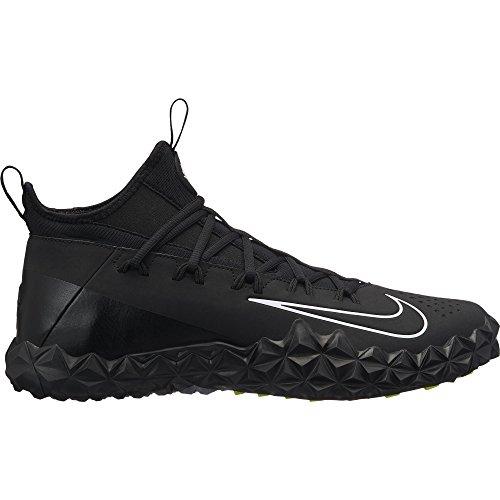 Nike Hommes Alpha Huarache 6 Taquets De Crosse De Gazon Elt Noir / Blanc