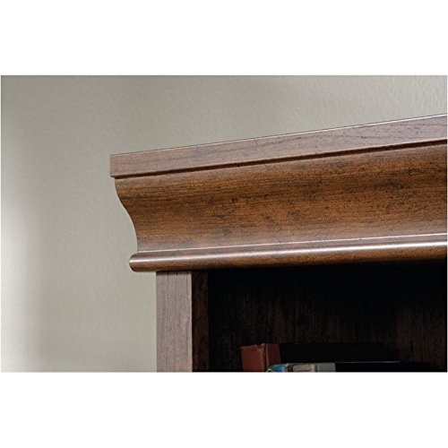 Sauder Orchard Hills Library, Milled Cherry finish (Wide Bookcase 26)