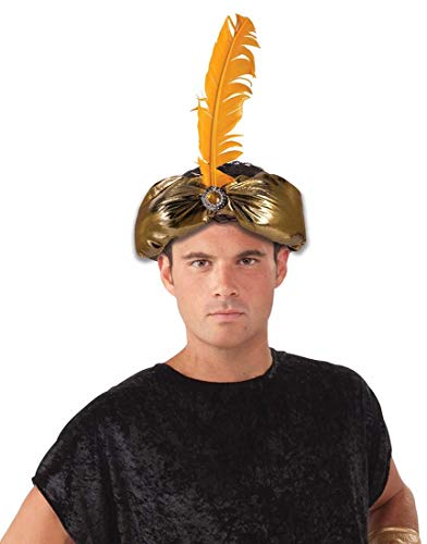 Forum Novelties 78480 Desert Prince Crown, One Size, Gold, Pack of 1
