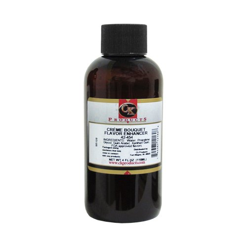 CK Products Artificial Crème Bouquet Flavor Enhancer, 4 ounce bottle