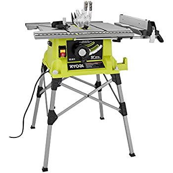 Ryobi RTS21G 10 in. Portable Table Saw with Quick Stand Green
