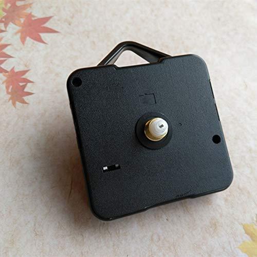 Maslin 100PCS Plastic Hanger Quartz Clock Mechanism Movements and Gold Clock Hands DIY