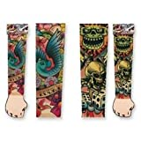 Assorted Ink Love Life Tattoo Sleeves-One Size Fits Most
