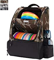 KGMCARE Disc Golf Backpack Camouflage Disc Golf Bag with 20+ Disc Capacity Carry Golf Bag for Disc Golf Starte