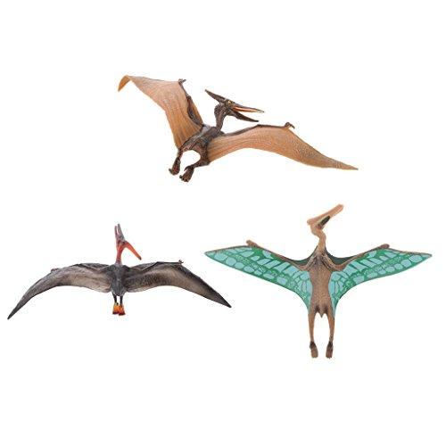 Perfk 恐竜・翼竜モデル 動物モデ 生き生き ケツァルコトゥラス プテラノドン 子供玩具 置物 贈り物  の商品画像