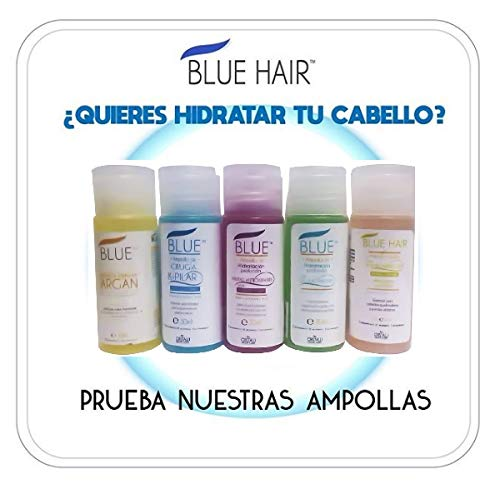 Amazon.com : AMPOLLAS CAPILARES BLUE HAIR (5 Units) ORIGINALES Hidratacion Profunda : Everything Else