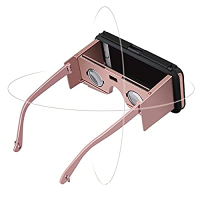 PVC Reality 3D VR Case for iPhone 6 6s Glasses Cover Cases for iPhone 6 6s Plus Professional VR Box Movies Games