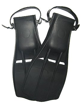 Old School Rubber - Spartan Old School Rubber Scuba Fins Dive Diving Divers Snorkeling Snorkel Si.