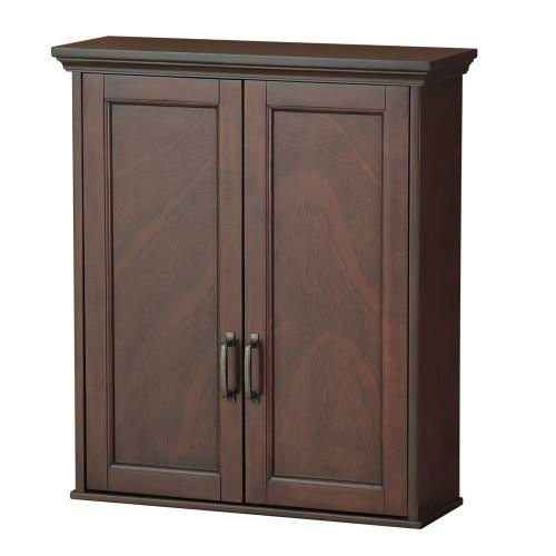 Foremost ASGW2327 Ashburn 23-1/2-Inch Wall Cabinet, Mahogany
