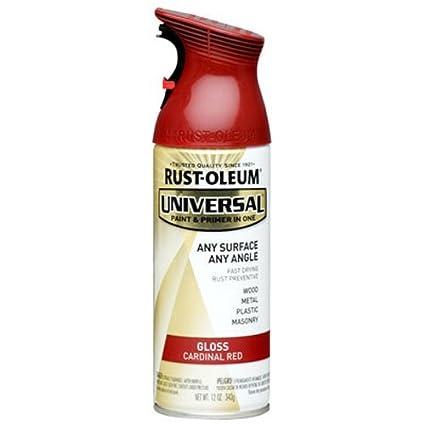 Rust-Oleum 245211 Spray Paint 12 oz  Gloss Cardinal Red