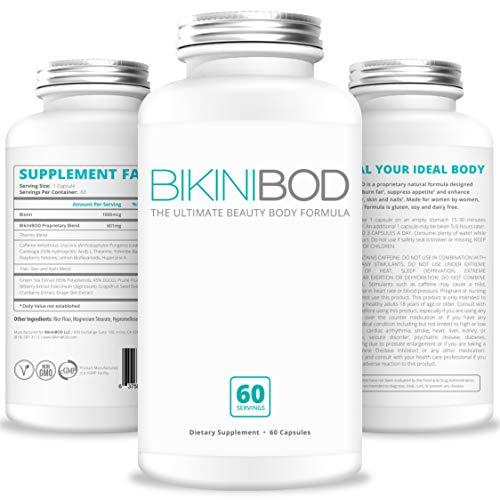 BIKINIBOD Weight Loss Pills for Women - Premium Vegan Weight Management & Beauty Supplement for...