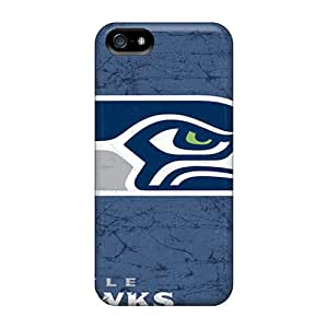 Tpu Shockproof/dirt-proof Seattle Seahawks Cover Case For Iphone(5/5s)