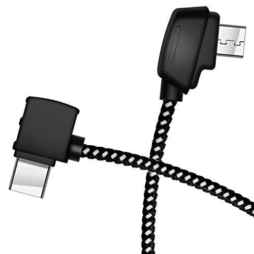 Cable micro AB - USB C para DJI Mavic Mini/Mavic 2 Pro corto