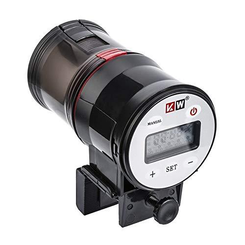 New Edify Ltd LCD Electronic Automatic Fish Feeder Dispenser Timer Automatic Tank Food Feeding Machine Auto Fish Feeder Timer