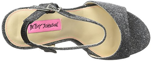 Betsey Johnson Frauen Platform Sandalen Black
