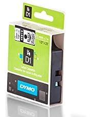 12mm Cinta, DYMO D145010, Negro sobre Transparente, cintas de láser s0720500, cinta de marcar 12mm de ancho, 7MTR.