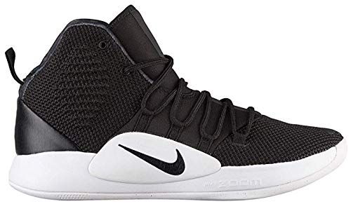 (Nike Men's Hyper Dunk X(Team) Basketball Shoe,Black/Black-White, 10.5)