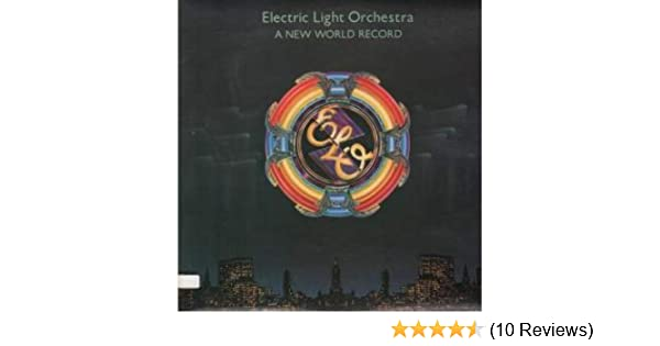 "1976 12/"" Vinyl Record Clock elo Electric Light Orchestra –A New World Record"