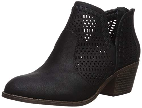 Fergalicious Women's Betrayal Ankle Boot, Black, 12 M