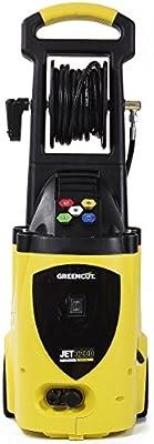 Greencut JET-3200 - Hidrolimpiadora de alta presión, motor de capacidad 2500 W con presión máxima 3200 PSI (220 bars), y presión de trabajo continua ...
