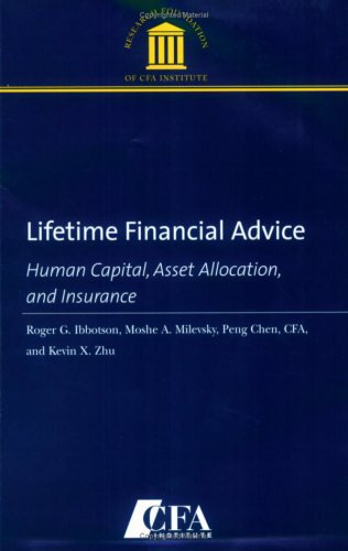 Lifetime Financial Advice: Human Capital, Asset Allocation, and Insurance