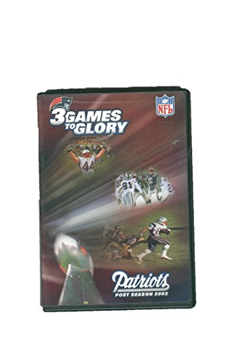 2002 Playoff Game - 3 Games to Glory: Patriots Post Season 2002