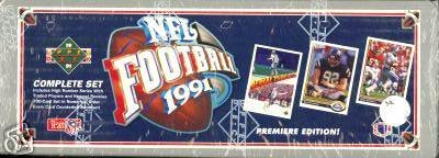 1991 Upper Deck Football Cards Unopened Factory Set (700 different cards) - I... 1991 Upper Deck Football Card