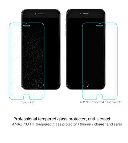 NILLKIN H + Film protecteur d'écran en verre anti-explosion pour iPhone 6Plus (emballage)