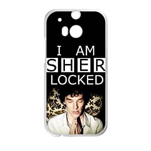 HTC One M8 phone cases White Sherlock cell phone cases Beautiful gifts UREN2424176