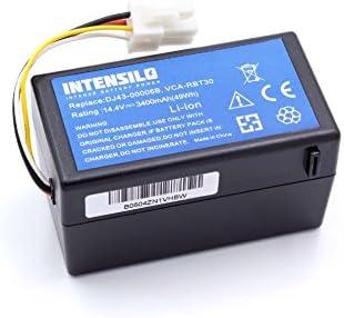 INTENSILO Batería Li-Ion 3400mAh (14.4V) para robot aspidador ...