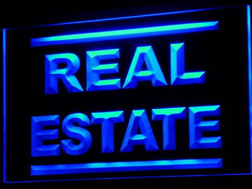 Real Estate Rent Lease Agent LED Sign Neon Light Sign Display (Real Estate Led)