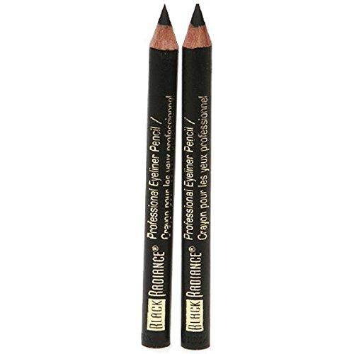 Black Radiance Twin Eyeliner Pencil Truly Black 6503