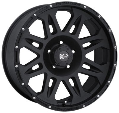 Pro Comp Alloys Series 05 Wheel with Flat Black Finish (17x9''/6x139.7mm) by Pro Comp Alloys (Image #1)