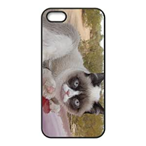 Peculiar Cat Hight Quality Plastic Case for Iphone 5s