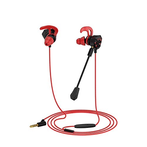 MyRBT HOCO-M45 PC Gaming Headset with Microphone in Ear Bass Noise Cancelling Earphone with Mic for Phone Computer Gamer PS4