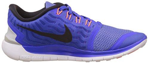 Nike Women's Free 5.0+ Laufschuh Racer Blau / Schwarz / Kreide Blau / Weiß