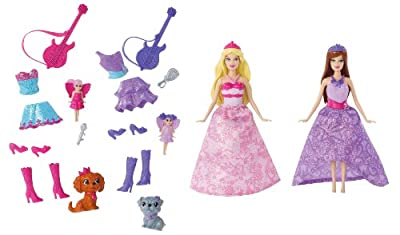 Barbie The Princess And The Popstar Mini-doll Giftset by Mattel